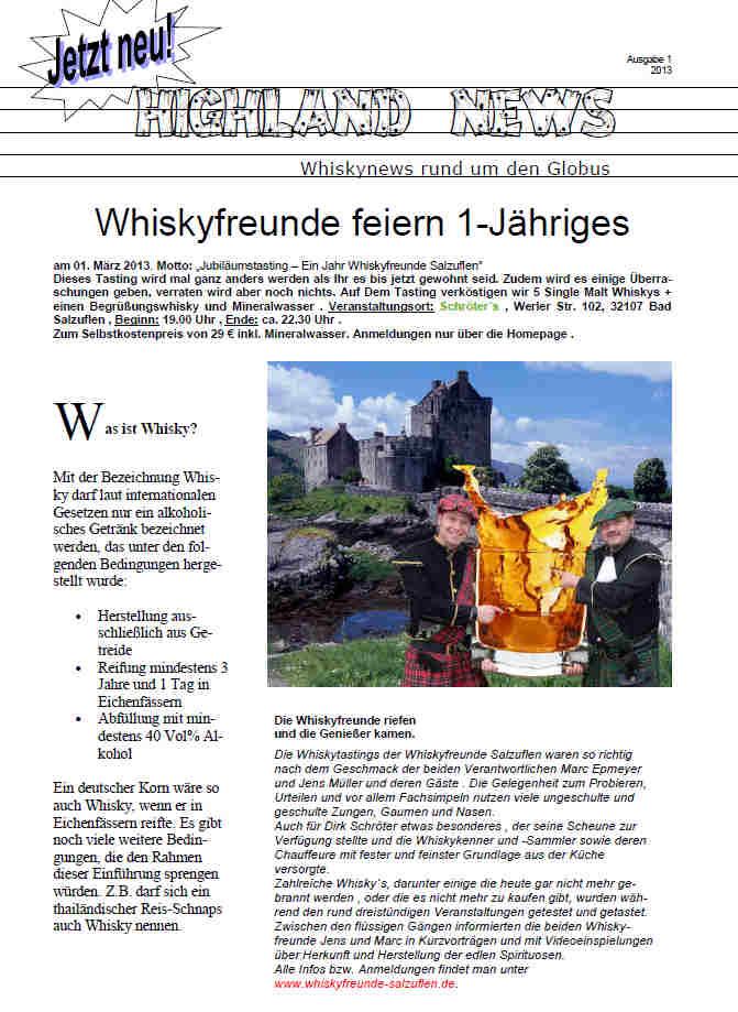 1 whiskyfreundezeitung